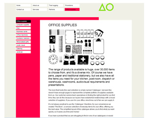 Almo Office Supplies ISO14001