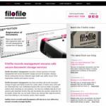 Filofile Document Storage