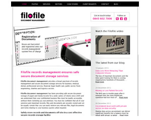 Filofile Document Storage