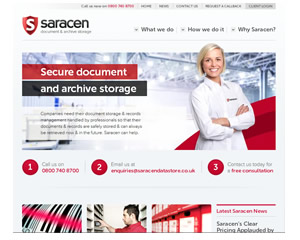 Saracen Document Storage