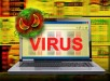 Computer Internet Virus Infection