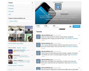 warrens office twitter page