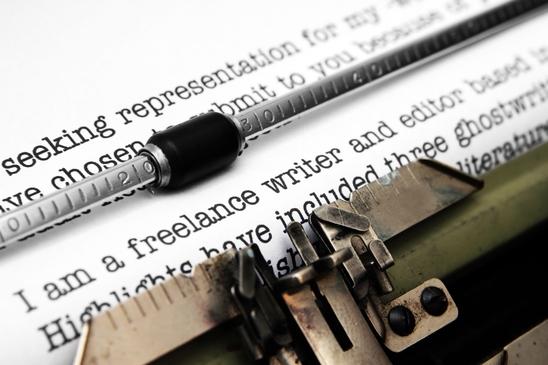 Freelance writer letter