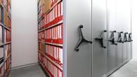 Ring binder storage